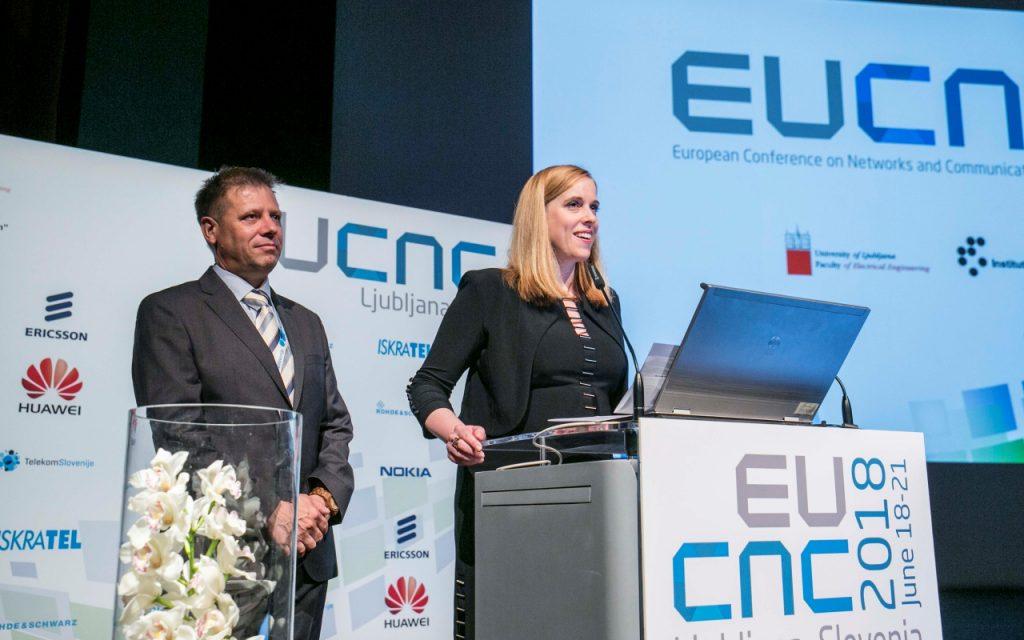 EUCNC 2018 conference in Ljubljana
