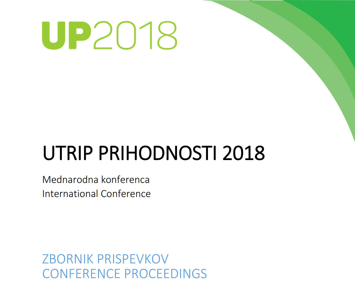 Proceedings of the International Expert Conference UP 2018