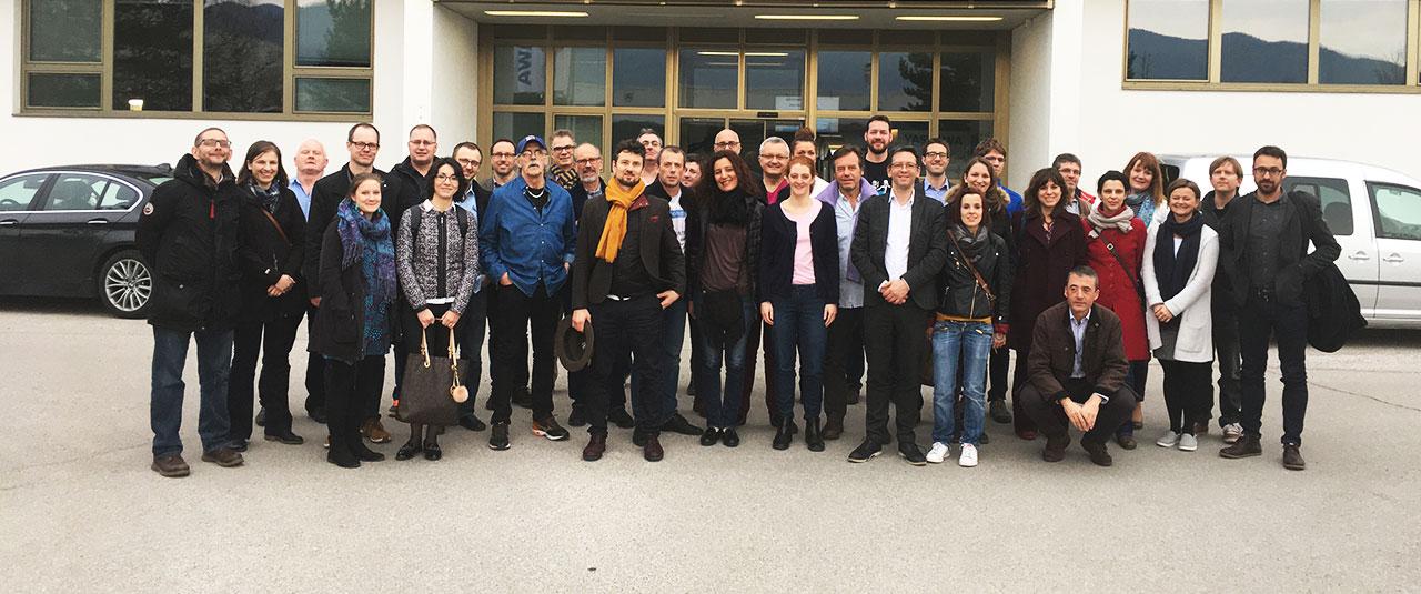 Partnerji projekta ERUDITE in predstavniki lokalnih skupnosti iz EU na obisku v Sloveniji