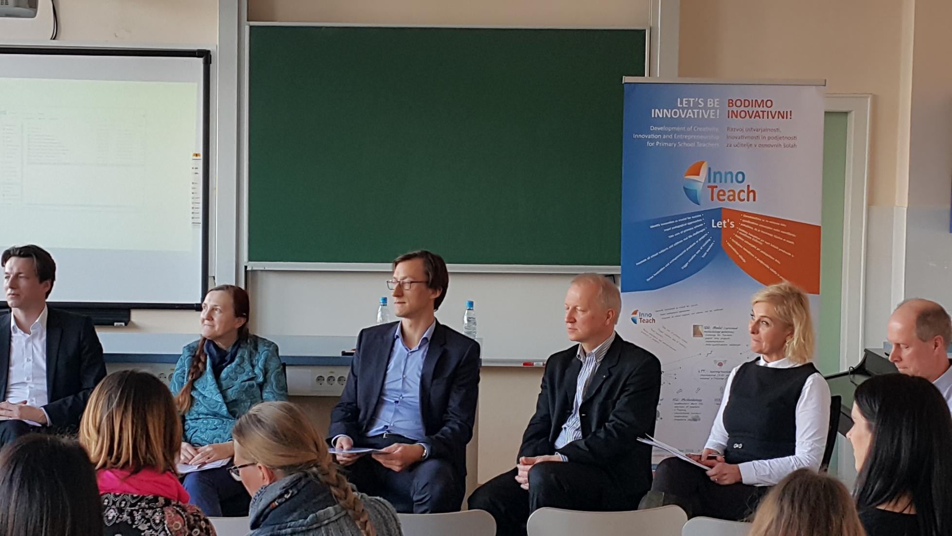 Zaključna konferenca mednarodnega projekta InnoTeach