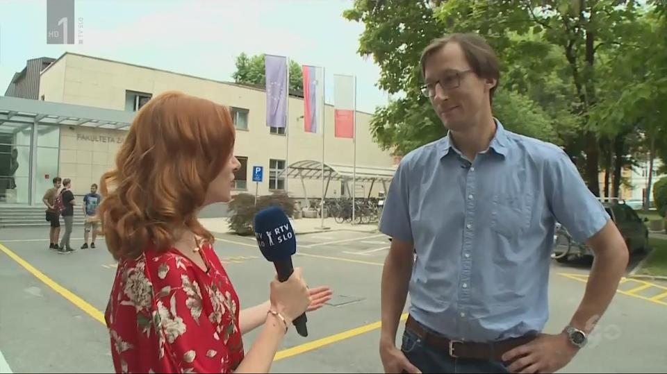 Laboratorij za Multimedijo v oddaji 90/60 – Obletnica RTV Slovenija