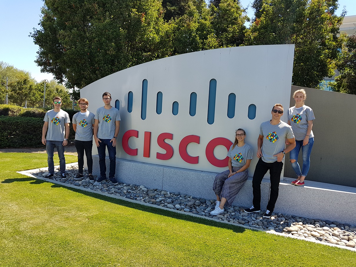 Ekipa RLS FE USA TRIP 2018 je obiskala podjetje Cisco