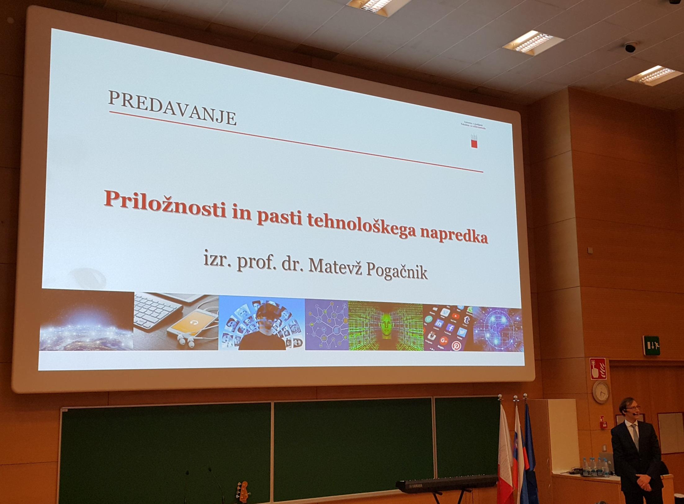 Dr. Matevž Pogačnik dobitnik letošnje Vidmarjeve nagrade za profesorje