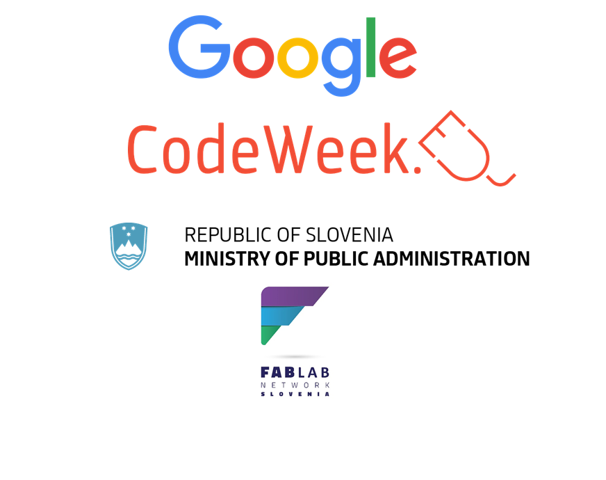 Event Everyone can code and be creative is sponsored by Google and Ministry of public administration