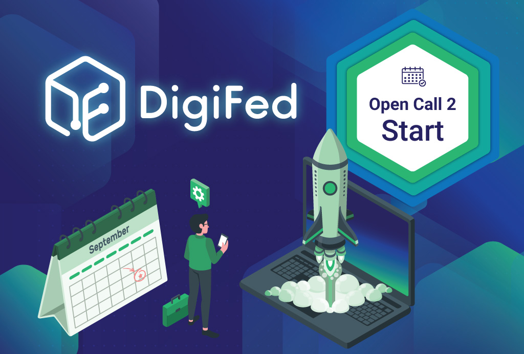 DigiFed launches second Open Call for companies across Europe to digitalise their products and services