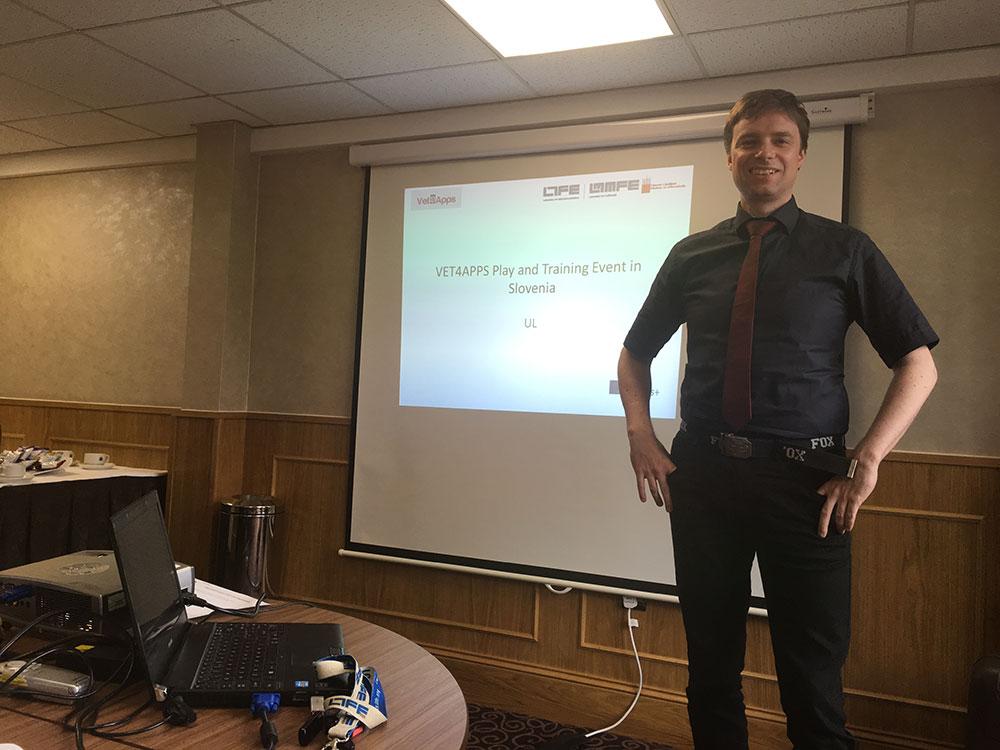 Zaključni sestanek projekta VET4APPS v Londonu
