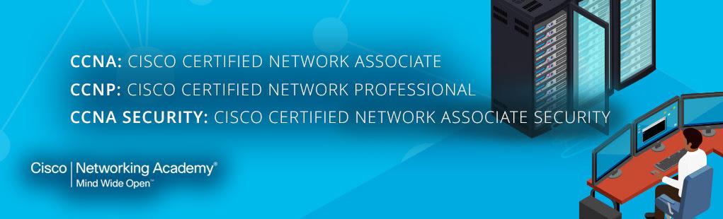 Cisco omrežna akademija – Začenjajo se tečaji CCNA, CCNP in CCNA Security