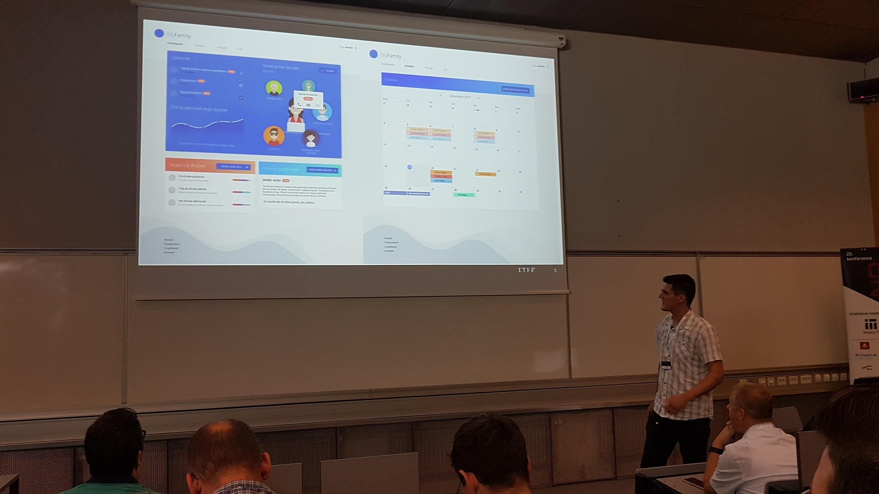 Predstavitev aplikacije MyFamily
