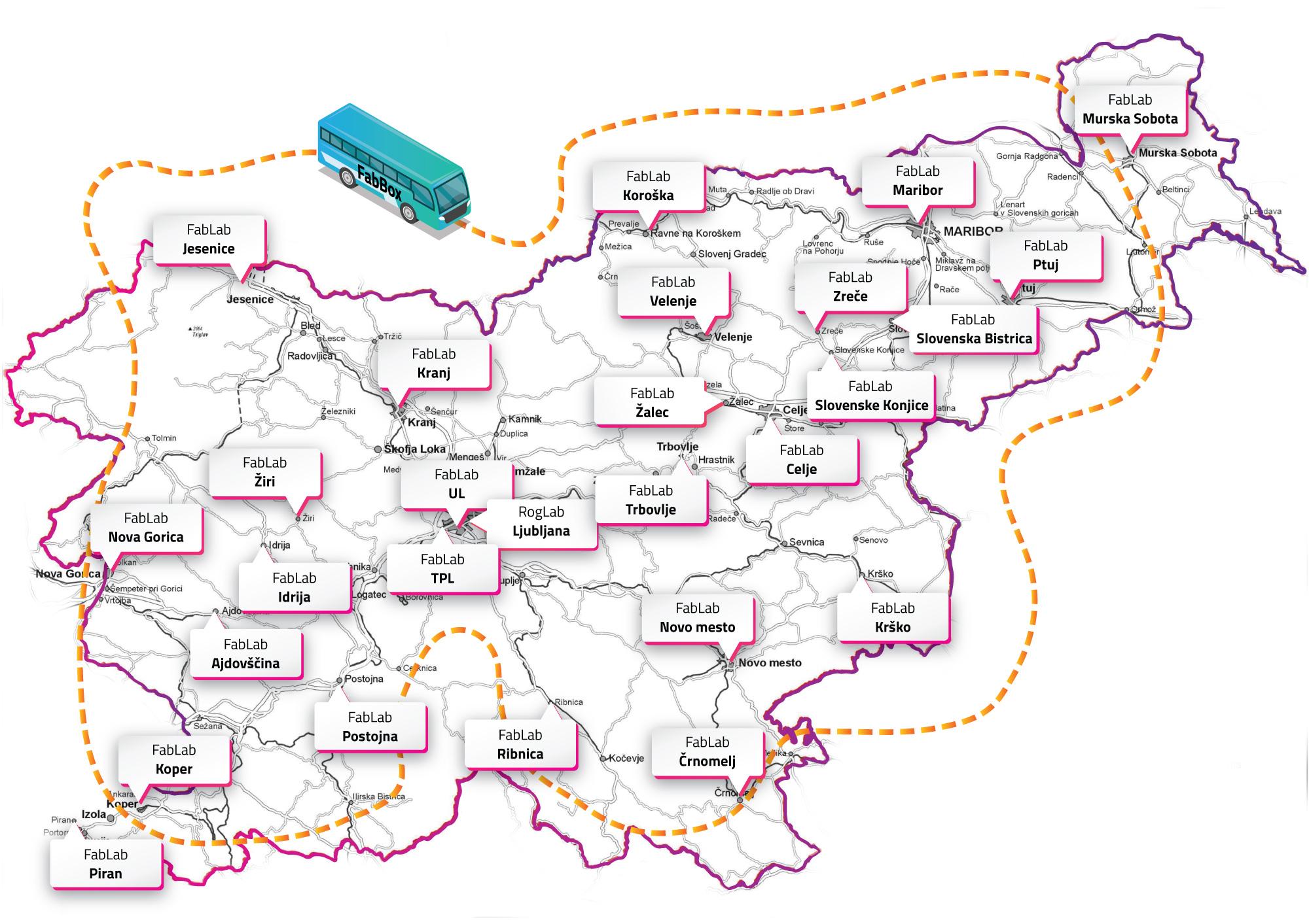 Oddajte projektni izziv na spletni strani FabLab mreže Slovenija