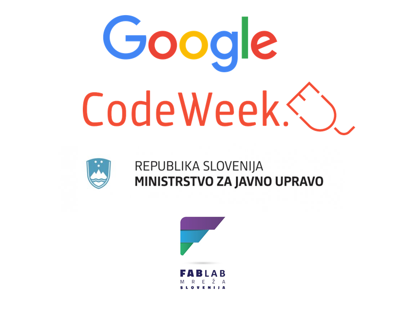 Dogodek Everyone can code and be creative podpirata Google in Ministrstvo za javno upravo RS