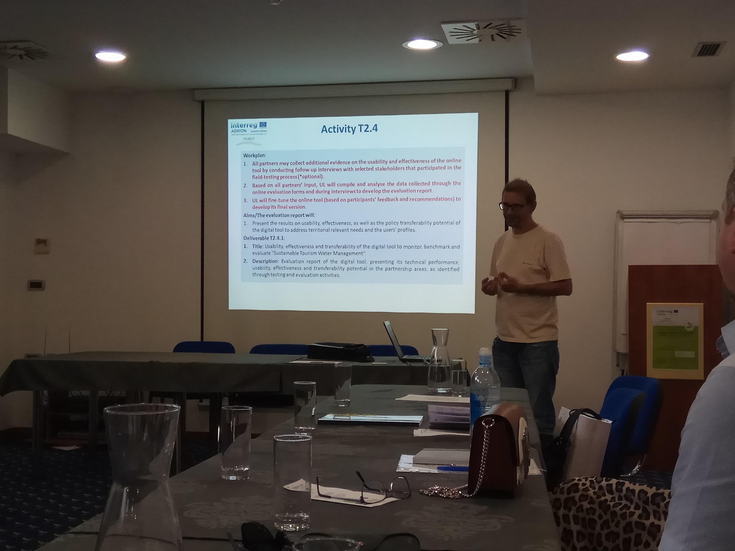 Drugi projektni sestanek Interreg projekta Adrion TOUREST
