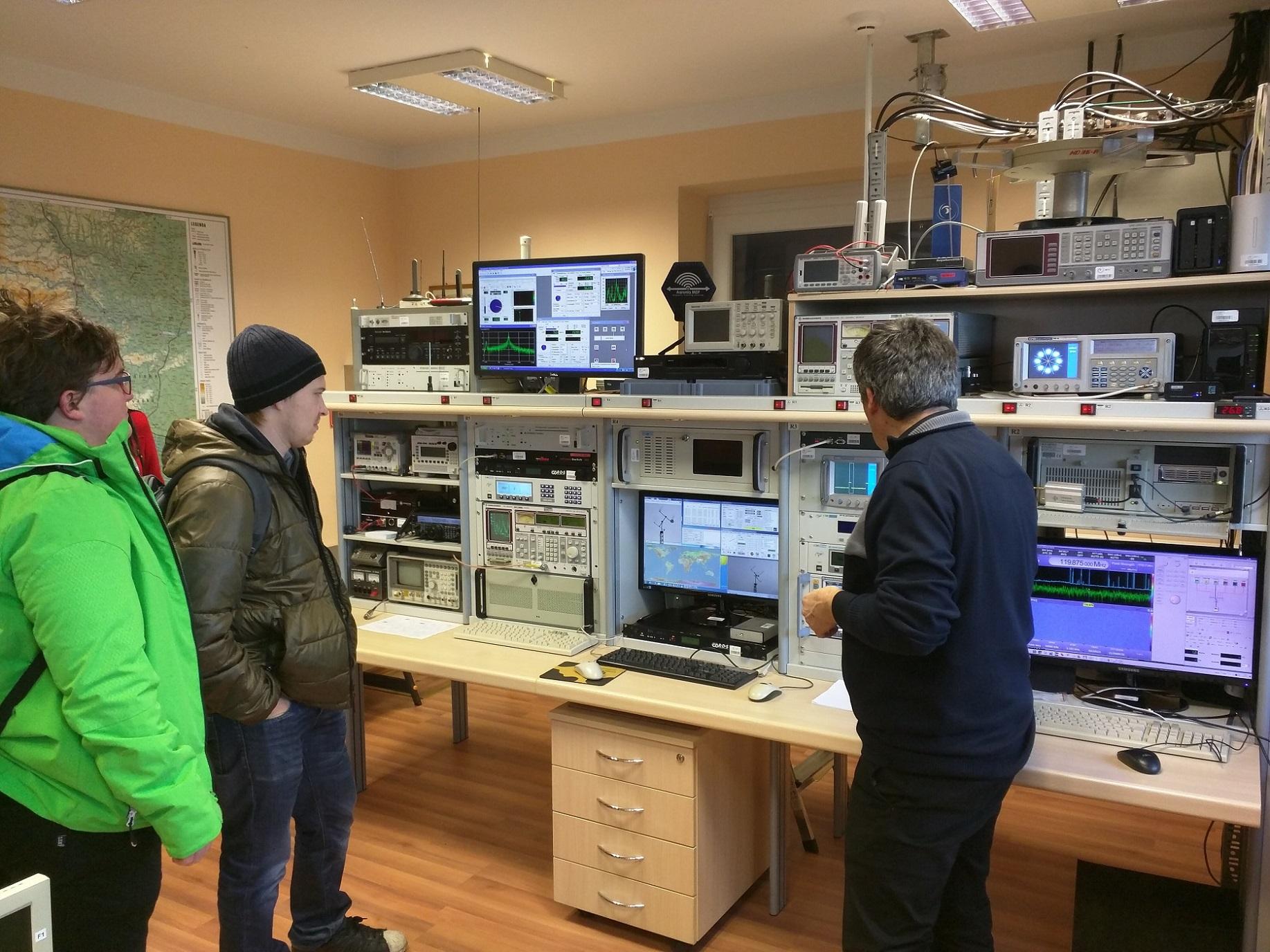 Strokovna ekskurzija študentov izbranih predmetov smeri Multimedija in Elektrotehnika
