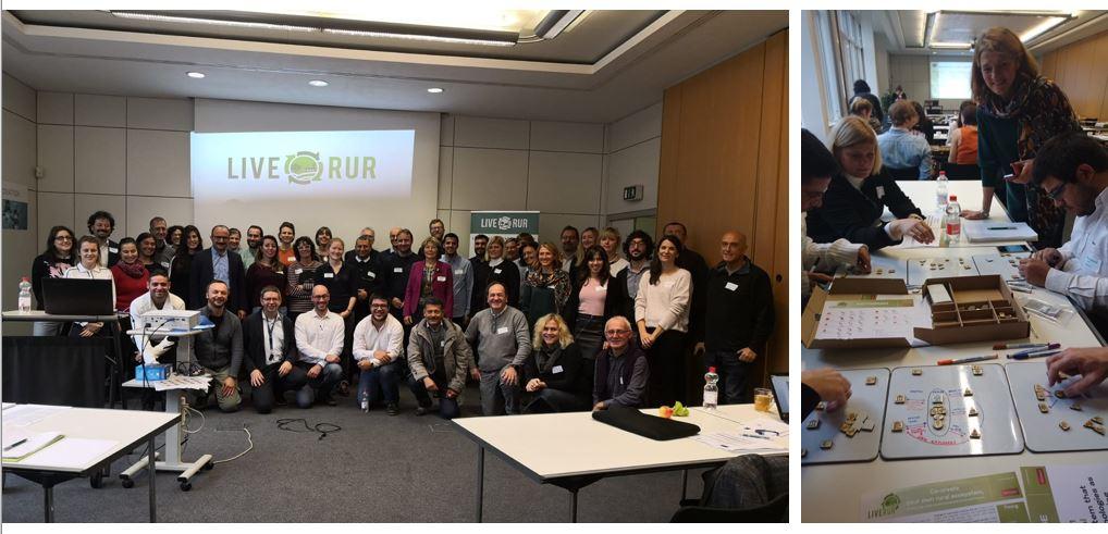 Srečanje partnerjev projekta Liverur v Berlinu