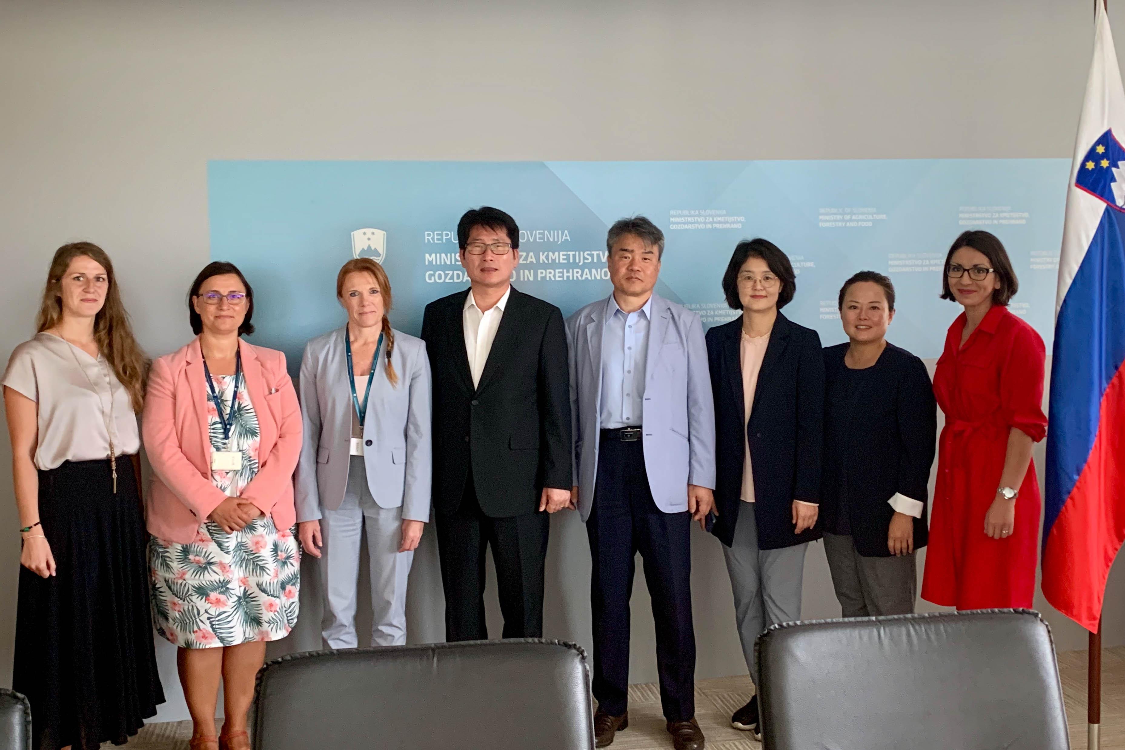Obisk južnokorejske delegacije na temo pametnih vasi