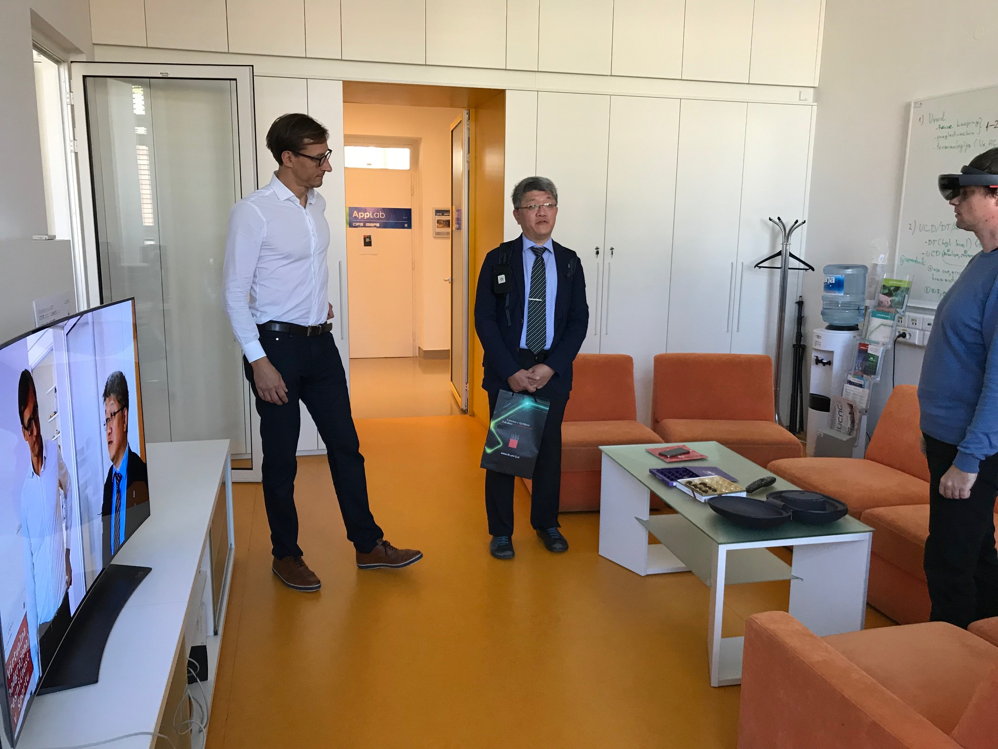 Obisk direktorja tajvanskega Inštituta za omrežja in multimedijo