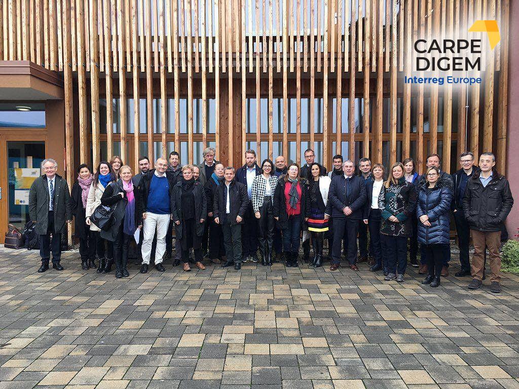 Carpe Digem v Sloveniji: drugo projektno srečanje v Kungoti