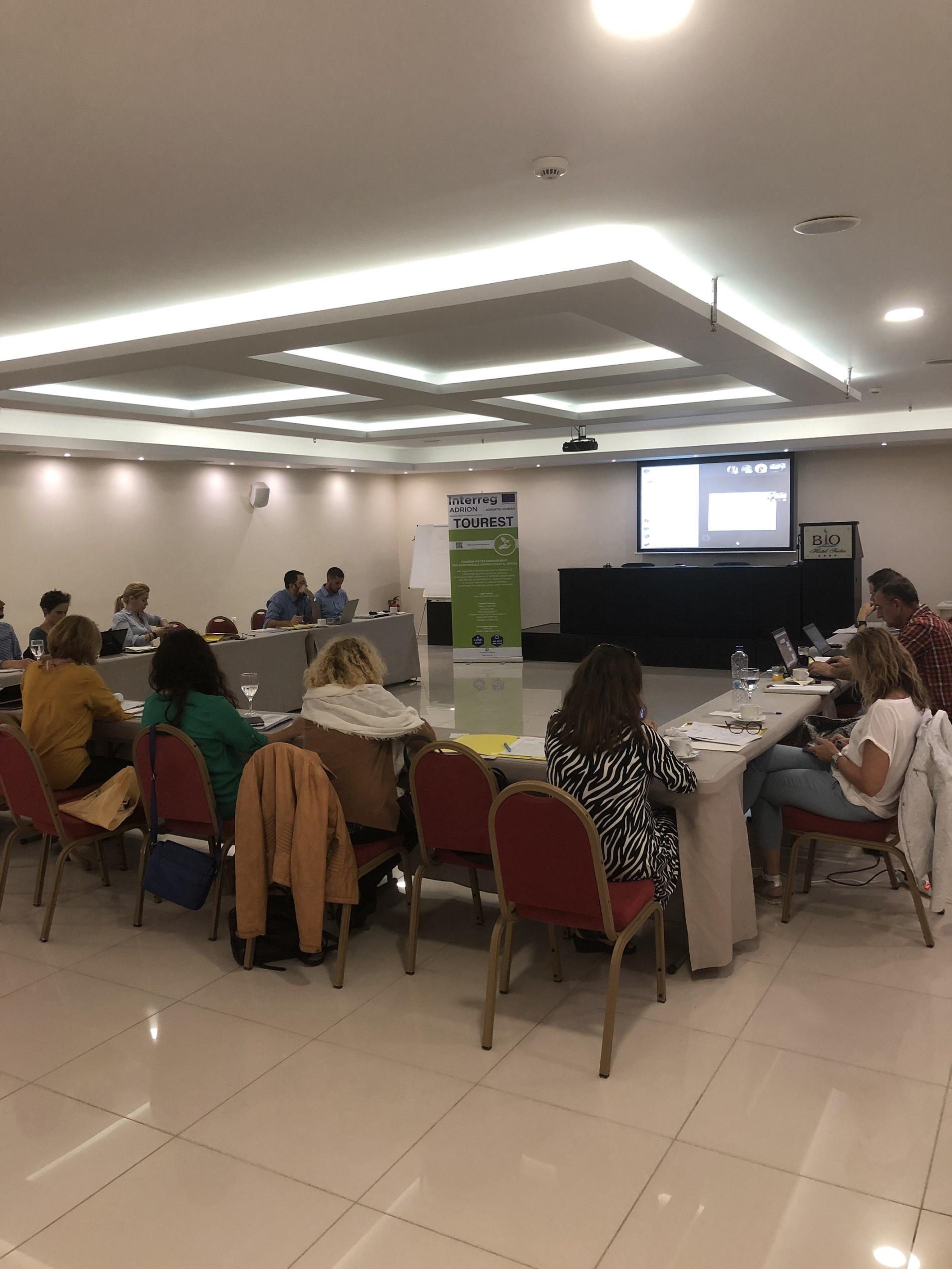 Projektni sestanek Interreg Adrion projekta Tourest
