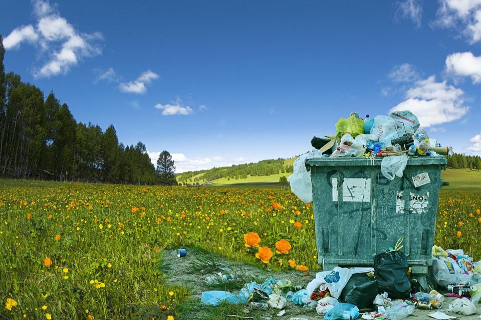 Pametni zabojnik za smeti