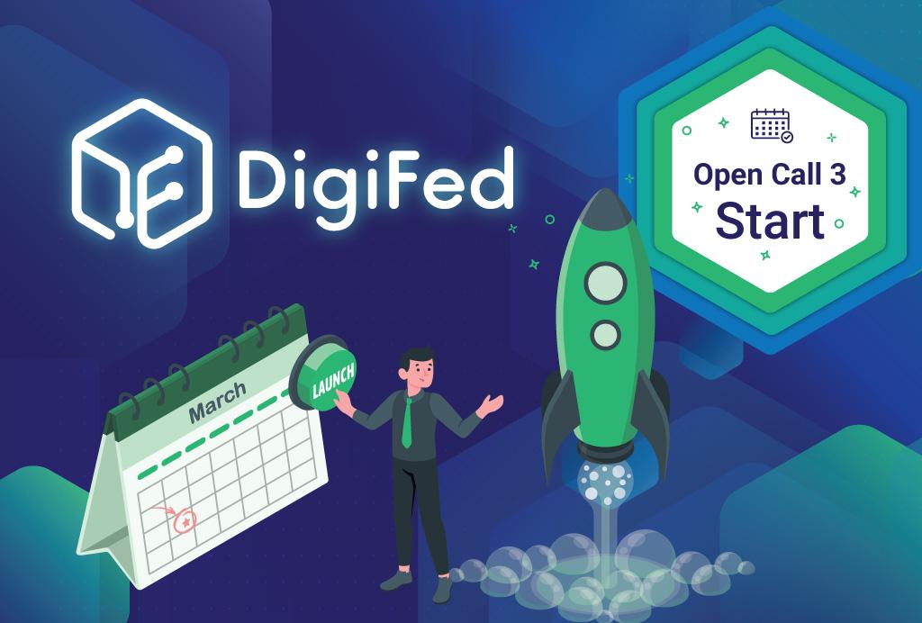 Tretji in zadnji razpis DigiFed Aplikacijski eksperiment odprt
