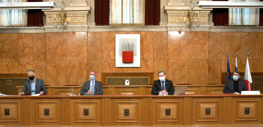 Multimedijska podpora volitvam rektorja Univerze v Ljubljani